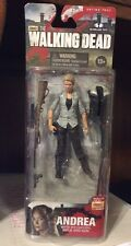 AMC The Walking Dead! New Series 4 Andrea Action Figure! McFarlane Toys!