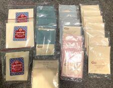 Raymar Cambridge Cross Stitch Fabric Aida Variety of Colors Sizes Lot of 22 Nip