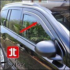 Deflettori Aria Anteriori Antiturbo Oscurati per Jeep Compass 2007-2017