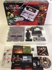 Super Nintendo SNES Console System Boxed Killer Instinct CIB 100% Complete Nr-MT