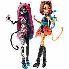 Monster High feroz rockeros Catty Noir Y Toralei exclusivo Muñecas 2 Pack Nuevo