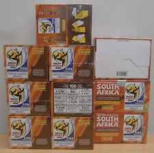 Panini WK 10x Sealed BOX - Display WC South Africa 2010
