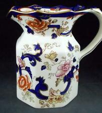 Masons MANDALAY Fenton Jug 40 ounces Blue Multicolor GREAT CONDITION