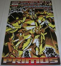 TRANSFORMERS: MORE THAN MEETS THE EYE ANNUAL 2012 (IDW) 2nd PRINT VARIANT COVER