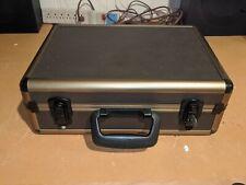 Vintage Alumimum Hard Case Luggage Equipment Camera Storage 16x12x6 Lockable