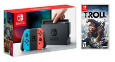NINTENDO SWITCH JOY-CON BLU/ROSSO + TROLL AND I