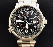 Citizen Eco-Drive Nighthawk Pilot WR200 Men's Watch