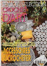 Tricot sélection CROCHET D'ART n° 238 octobre 1997