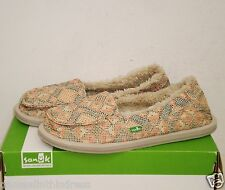 SANUK I Can't Quilt You Sidewalk Surfers Shoes Melon NWT 9US NWOB $65 MSRP
