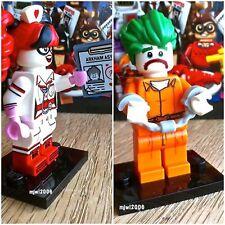 71017 THE LEGO BATMAN MOVIE The Joker Nurse Harley Quinn 2Minifigs SEALED Bundle
