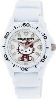 CITIZEN Q&Q Hello Kitty Women's Wristwatch VQ75-431 White Water Resistant F/S