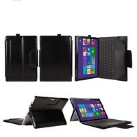 """PU Leather Protective Keyboard Case/Cover For 12.3"""" Microsoft Surface Pro 4 - UK"""