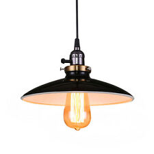 Altes Factory Modell UFO Kronleuchter Lampenschirm Deckenleuchte E27 Lampe