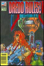 Dredd Rules! #20, Fleetway Quality Comic Book Judge Dredd Wagner Yeowell Frame