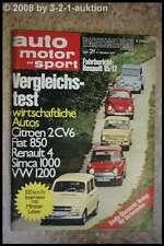 AMS Auto Motor Sport 21/71 * Lancia Fulvia  Excalibur 35 x Alfa Giulia