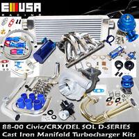 Presicion 5431 Turbo Kit D SS Manifold for  1.6L SOHC VTEC I-4 125HP D16Z6 D18