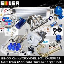 Civic Presicion 5431 Turbo Kit D SS ManifoldEX/Si 1.6L SOHC VTEC I-4 125HP D16Z6