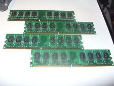 8GB = (4 x 2GB) PC2-5300 DDR2 667 mhz Memory DESKTOP RAM dell optiplex sff mini