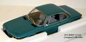 Minichamps 1972 BMW 3.0 CSi 1/18 NEW!