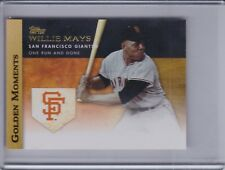 WILLIE MAYS 2012 Topps Mini Golden Moments #GM-45 (C8058)