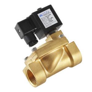 """G 3/4"""" Magnetventil Messing """"NC"""" Elektroventil 0.03-16bar 230V für Wasser Luft"""