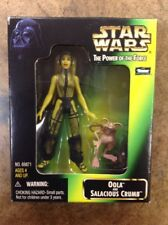 KHS - STAR WARS POWER OF THE FORCE OOLA & SALACIOUS CRUMB FIGURES HASBRO 1998