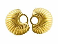 Cartier Signed Cartier 14KY Clip On Earrings Circa 1940s