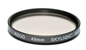 High Quality Kood 49mm Glass SKYLIGHT 1A Filter Made in Japan Protection Filter