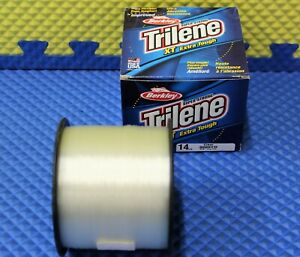 Berkley Trilene XT Extra Tough 14LB 3000YD Line Clear XT3014-15 1003576