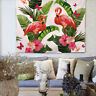 FLAMINGO TAPESTRY POLYESTER BOHEMIA BEDSPEAD BEACH TOWEL MAT DECO WALL HANGING