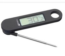 Master Class Folding Electronic Digital LCD Food Cooking Thermometer