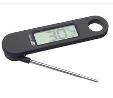 MASTER Class PIEGHEVOLE ELETTRONICA DIGITALE LCD Cibo Termometro Cucinare SONDA IN METALLO