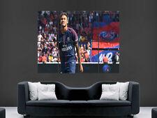 Neymar POSTER PSG paris saint germain soccer football Wall Art Print