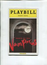 Broadway Theatre PLAYBILL 2002 OPENING NIGHT DANCE OF THE VAMPIRES M Crawford