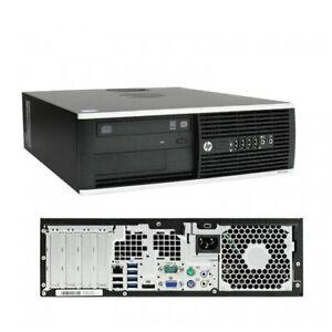 Fast Computer PC Desktop HP i7 3rd Gen 16GB RAM 120GB SSD + 1TB HDD Win 10 WiFi