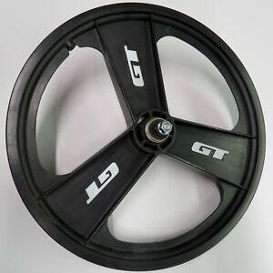 GT Fan Mag Wheel Rear Freewheel  BMX Bike  3 Tri Spoke Old Mid School