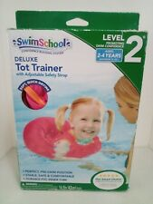 SwimSchool Tot Trainer Vest Toddler Young Kids Pool Swim Float Learn Level 2 New