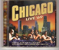 (HH436) Chicago, Live '69 - 1999 CD