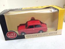 VANGUARDS 1/43 VA026000R Hillman Imp  -  red    BOXED