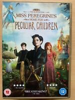 Miss Peregrine's Home for Peculiar Children DVD 2016 Gothic Family Fantasy Movie