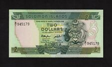F.C. ISLAS SALOMON SOLOMON ISLANDS , 2 $ 1986 , S/C ( UNC ) , P.13a .