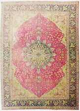 "Antique Persian Tabriz rug. 6'10""x 9'6"""