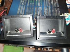 PAIR of INFINITY Reference Six Crossovers. Tested and working