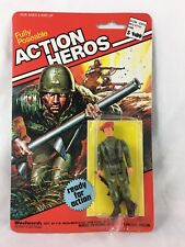 Vintage - Woolworth - Action Heros - RED BERAT - Action Figure - 1980 - RARE!