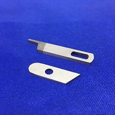 Couteau inférieure + supérieur surjeteuse lame Singer #550449 #412585 Simplicity