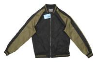 Primark Mens Size M Black Bomber Jacket