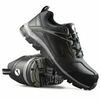 Mens Albatros Leather Safety Steel Toe Cap Work Ankle Boots Trainers Shoes Size