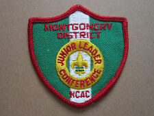 Junior Leader Conference NCAC BSA Woven Cloth Patch Badge Boy Scouts Scouting