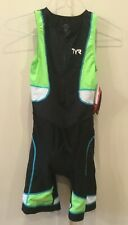 New TYR Competitor Women's Tri Suit Triathlon Suit LARGE. Retail $119