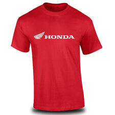 Genuine Honda Biker Motorcycle Racing Freestyle Motocross Red Men Tee T-Shirt